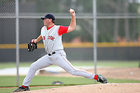 August 14, 2008: Richard Wasielewski (55) of the GCL Red Sox. Photo by: Chris Proctor/Four Seam Images