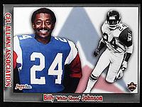 "Billy ""white shoes"" Johnson-JOGO Alumni cards-photo: Scott Grant"