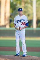 AZL Dodgers starting pitcher James Marinan (29) during a game against the AZL Brewers at Camelback Ranch on July 25, 2017 in Glendale, Arizona.  The AZL Dodgers defeated the AZL Brewers 8-3.  (Zachary Lucy/Four Seam Images)