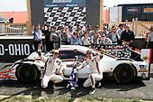 #7 Acura Team Penske Acura DPi, P: Helio Castroneves, Ricky Taylor, podium,