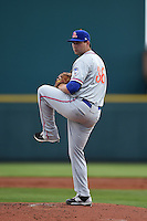 St. Lucie Mets pitcher Logan Taylor (36) delivers a pitch during a game against the Bradenton Marauders on April 12, 2015 at McKechnie Field in Bradenton, Florida.  Bradenton defeated St. Lucie 7-5.  (Mike Janes/Four Seam Images)