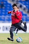Muangthong Midfielder Sanukran Thinjom in action during the AFC Champions League 2017 Group E match between  Ulsan Hyundai FC (KOR) vs Muangthong United (THA) at the Ulsan Munsu Football Stadium on 14 March 2017 in Ulsan, South Korea. Photo by Chung Yan Man / Power Sport Images