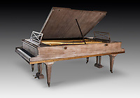 BNPS.co.uk (01202) 558833<br /> Pic: Dreweatts/BNPS<br /> <br /> Picrured: A Pleyel double grand piano has an estimate £50,000<br /> <br /> A remarkable collection of rare pianos belonging to the Queen's personal restorer and conservator has emerged for sale for £250,000.<br /> <br /> David Winston is parting with 26 pianos he has amassed over the past 30 years dating from the 18th century to the present day.<br /> <br /> Mr Winston, who was awarded the Royal Warrant in 2012, is regarded as one of the foremost experts in his field and has restored pianos owned and played by Beethoven, Chopin and Liszt.<br /> <br /> His collection includes a 1925 Pleyel grand piano fitted with an original 'Auto Pleyela' self-playing mechanism in a spectacular Chinoiserie Louis XV case valued at 60,000.