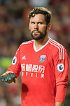 West Bromwich Albion goalkeeper Ben Foster reacts during the Premier League Asia Trophy match between West Bromwich Albion and Crystal Palace at Hong Kong Stadium on 22 July 2017, in Hong Kong, China. Photo by Weixiang Lim / Power Sport Images