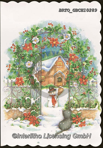 Alfredo, CHRISTMAS LANDSCAPES, WEIHNACHTEN WINTERLANDSCHAFTEN, NAVIDAD PAISAJES DE INVIERNO, paintings+++++,BRTOGBCH10289,#xl#