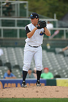 Trenton Thunder  pitcher Jacob Lindgren (24) during game against the Altoona Curve at ARM & HAMMER Park on August 6, 2014 in Trenton, NJ.  Trenton defeated Altoona 7-3.  (Tomasso DeRosa/Four Seam Images)