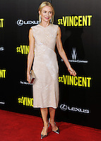 NEW YORK CITY, NY, USA - OCTOBER 06: Naomi Watts arrives at the New York Premiere Of The Weinstein Company's 'St. Vincent' held at the Ziegfeld Theatre on October 6, 2014 in New York City, New York, United States. (Photo by Celebrity Monitor)