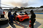 Pirelli World Challenge<br /> Intercontinental GT Challenge California 8 Hours<br /> Mazda Raceway Laguna Seca<br /> Sunday 15 October 2017<br /> Ryan Eversley, Tom Dyer, Dane Cameron, Acura NSX GT3, GT3 Overall pit stop.<br /> World Copyright: Richard Dole<br /> LAT Images<br /> ref: Digital Image RD_PWCLS17_356