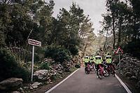 468m<br /> <br /> Team Trek-Segafredo men's team<br /> training camp<br /> Mallorca, january 2019<br /> <br /> ©kramon
