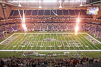 SAN ANTONIO, TX - NOVEMBER 7, 2015: The Old Dominion University Monarchs hold on to defeat the University of Texas at San Antonio Roadrunners 36-31 in the Alamodome. (Photo by Jeff Huehn)