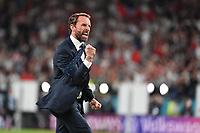 7th July 2021, Wembley Stadium, London, England; 2020 European Football Championships (delayed) semi-final, England versus Denmark;  Celebration for reaching the final coach Gareth SOUTHGATE ENG