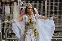 SÃO PAULO, SP, 15.02.2015  CARNAVAL 2015  SÃO PAULO  GRUPO ESPECIAL /VAI VAI . Maria Rita, durante desfile da escola de samba Vai Vai, na madrugada deste domingo, 15. (Foto: Adriana Spaca / Brazil Photo Press).