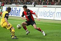 Martin Fenin (Eintracht) gegen Christian Woerns (BVB)<br /> Eintracht Frankfurt vs. Borussia Dortmund, Commerzbank Arena<br /> *** Local Caption *** Foto ist honorarpflichtig! zzgl. gesetzl. MwSt. Auf Anfrage in hoeherer Qualitaet/Aufloesung. Belegexemplar an: Marc Schueler, Am Ziegelfalltor 4, 64625 Bensheim, Tel. +49 (0) 6251 86 96 134, www.gameday-mediaservices.de. Email: marc.schueler@gameday-mediaservices.de, Bankverbindung: Volksbank Bergstrasse, Kto.: 151297, BLZ: 50960101