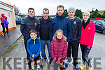 Tom and Darragh McColdrick, Danny Carroll, Patrick and Sarah Leahy, Don and Liz McAuliffe attending the Kerrie Browne memorial 5K Walk and Run in Brosna on Sunday