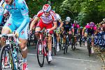 Alexander Kristoff (NOR) of Team Katusha, Vattenfall Cyclassics, Waseberg, Hamburg, Germany, 24 August 2014, Photo by Thomas van Bracht