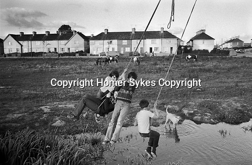 Limerick, in County Limerick, Southern Ireland Eire 1979.