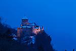 Schloss, Castle of Vaduz, Rheintal, Rhine-valley, Liechtenstein.