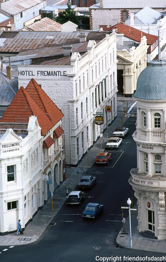 Fremantle: Cliff St. from Port Terminal. Photo '82.