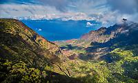 Nāpali Coast State Wilderness Park in Kauai, Hawaii