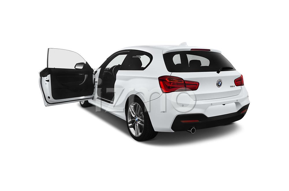 Car images close up view of a 2018 BMW 1 Series M Sport Ultimate 3 Door Hatchback doors