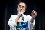 © Joel Goodman - 07973 332324 . . 12/06/2016 . Manchester , UK . Jess Glynne performs at the Parklife music festival at Heaton Park in Manchester . Photo credit : Joel Goodman