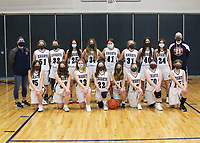 Basketball Girls Team and Individuals 3/30/2021