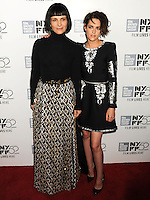 NEW YORK CITY, NY, USA - OCTOBER 08: Juliette Binoche, Kristen Stewart arrive at the 52nd New York Film Festival - 'Clouds Of Sils Maria', 'Merchants Of Doubt' And 'Silvered Water' Premieres held at Alice Tully Hall on October 8, 2014 in New York City, New York, United States. (Photo by Celebrity Monitor)