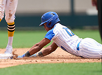 South Dade Buccaneers catcher Juan Aracena (17) during the 42nd Annual FACA All-Star Baseball Classic on June 5, 2021 at Joker Marchant Stadium in Lakeland, Florida.  (Mike Janes/Four Seam Images)