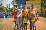 Children in Conakry, Guinea