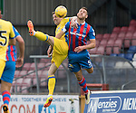Inverness Caley Thistle v St Johnstone…27.08.16..  Tulloch Stadium  SPFL<br />Steven MacLean and Gary Warren<br />Picture by Graeme Hart.<br />Copyright Perthshire Picture Agency<br />Tel: 01738 623350  Mobile: 07990 594431