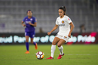 Orlando, FL - Saturday March 24, 2018: Utah Royals midfielder Taylor Lytle (12) during a regular season National Women's Soccer League (NWSL) match between the Orlando Pride and the Utah Royals FC at Orlando City Stadium. The game ended in a 1-1 draw.