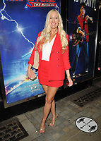 """Hayley Palmer at the """"Back to the Future The Musical"""" press night, Adelphi Theatre, The Strand, on Monday 13th September 2021 in Londomn, England, UK. <br /> CAP/CAN<br /> ©CAN/Capital Pictures"""