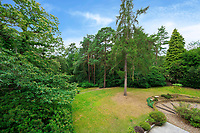 BNPS.co.uk (01202) 558833. <br /> Pic: Savills/BNPS<br /> <br /> Pictured: Garden. <br /> <br /> The UK home of Hollywood actor Antonio Banderas is on the market for £2.95m.<br /> <br /> The Mask of Zorro star moved from LA to Cobham in Surrey in 2015 with girlfriend Nicole Kimpel after splitting from his wife of 20 years Melanie Griffiths.<br /> <br /> They are now selling their home to spend more time in Banderas' native Malaga, where he has bought and built a theatre.