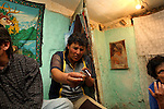 And where will he find the motivation to quit? Sayt lives in two small rooms with 10 other people. None of them have jobs. None of them can see a way out. <br /> <br /> If you don't really have a future, you don't mind trading it for a few hours of drug-fuelled happiness in the present.<br /> <br /> Albania's HIV epidemic is concentrated among injecting-drug users and other high risk groups, but has the potential to spread into the rest of the population. The NGO Stop AIDS, supported by UNICEF, offers information and health services to heroin addicts in the capital Tirana to reduce their chances of becoming infected.