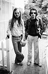 Steely Dan 1977 Walter Becker and Donald Fagen at the Bel Air Hotel<br /> © Chris Walter