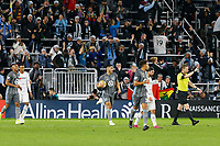 St. Paul, MN - Sunday September 29, 2019 :Minnesota United FC played Los Angeles FC in a Major League Soccer (MLS) game at Allianz Field  Final score Minnesota United 1, Los Angeles FC 1