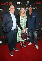 WEST HOLLYWOOD, CA - SEPTEMBER 13: Ken Rickel, Nancy Davis,Robert Davi,  at the LA Premiere Screening Of I Love Us at Harmony Gold in West Hollywood, California on September 13, 2021. Credit: Faye Sadou/MediaPunch