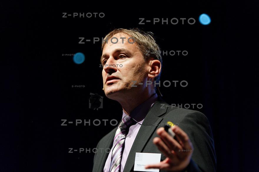 Markus Gross, Informatik-Professor ETH, Leiter Forschungszentrum von Walt Disney in Zuerich<br /> am SwissMediaForum am 23. Mai 2013 im KKL Luzern<br /> <br /> Copyright © Zvonimir Pisonic
