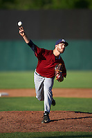 Mahoning Valley Scrappers relief pitcher Michael Letkewicz (39) during a game against the Auburn Doubledays on July 17, 2016 at Falcon Park in Auburn, New York.  Mahoning Valley defeated Auburn 3-2.  (Mike Janes/Four Seam Images)