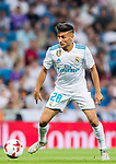Oscar Roddriguez of Real Madrid in action during the Santiago Bernabeu Trophy 2017 match between Real Madrid and ACF Fiorentina at the Santiago Bernabeu Stadium on 23 August 2017 in Madrid, Spain. Photo by Diego Gonzalez / Power Sport Images