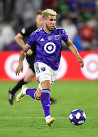 Orlando, FL - Wednesday July 31, 2019:  Alexandro Pozuelo #20 during an Major League Soccer (MLS) All-Star match between the MLS All-Stars and Atletico Madrid at Exploria Stadium.