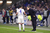 RUDI GARCIA (ENTRAINEUR LYON)<br /> Lione 10-12-2019 <br /> Lyon vs Leipzig <br /> Champions League 2019/2020<br /> Photo Anthony Bibard / Panoramic / Insidefoto <br /> Italy Only