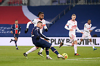 9th January 2021, Paris, France; French League 1 football, St. Germain versus Stade Brest;  MAURO ICARDI PSG and JEAN KEVIN DUVERNE BRE
