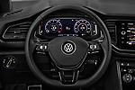 Car pictures of steering wheel view of a 2018 Volkswagen T-Roc Elegance 5 Door SUV