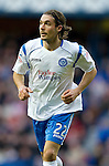 Rangers v St Johnstone....27.02.11 .Danny Invincibile.Picture by Graeme Hart..Copyright Perthshire Picture Agency.Tel: 01738 623350  Mobile: 07990 594431