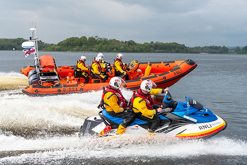 RNLI Carrybridge Tows Vessel with Engine Difficulties on Lough Erne