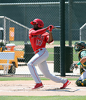 Trent Deveaux - Los Angeles Angels 2019 extended spring training (Bill Mitchell)