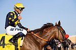 AUGUST 07 2021: Luck with Umberto Rispoli wins an allowance race at Del Mar Fairgrounds in Del Mar, California on August 07, 2021. Evers/Eclipse Sportswire/CSM