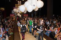 SÃO PAULO,SP,29.03.2015- FASHION WEEKEND KIDS -Modelos mirins durante o desfile da marca Ellus Kids.Shopping Cidade Jardim,região sul da cidade de São Paulo na tarde desse domingo,28.(FOTO:KEVIN DAVID/BRAZIL PHOTO PRESS).