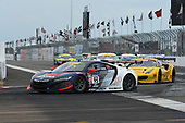 9-12 March, 2017, Saint Petersburg, Florida, USA<br /> #93 Peter Kox, Acura NSX GT3<br /> © 2017, Jay Bonvouloir, ESCP